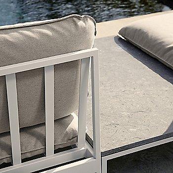 Light Grey Sunbrella Sling fabric / Light Grey frame