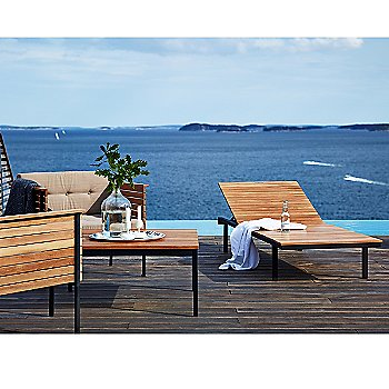 Pictured with the HARINGE Sun Lounger and Lounge Chairs (sold separately)