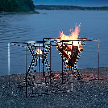 Pictured with the Boo Fire Basket (sold separately)