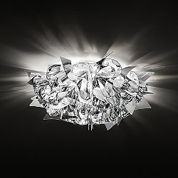 Veli Metallic Ceiling/Wall Light