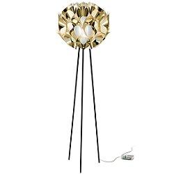 Flora Metallic Floor Lamp