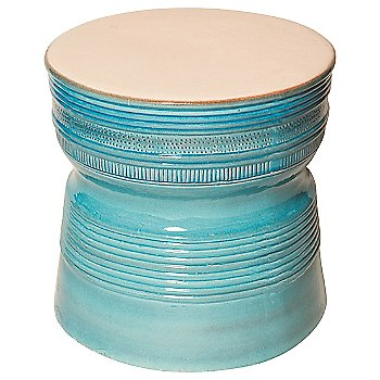 Shown in Turquoise Blue/White