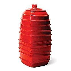 Ribbed Square Bottom Jar