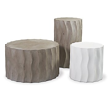 Pictured with the Wave Accent Table, Tall and Wave Accent Table, Wide (sold separately)
