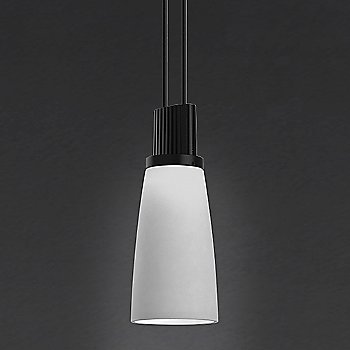 Shown in Gray Tapered Bell shade
