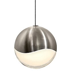Grapes LED Mini Pendant (Nickel/Micro Dome/Large) - OPEN BOX