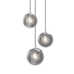 Champagne Bubbles LED Multipoint Pendant Light