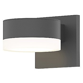 Shown in Frosted Polycarbonate Cylinder, Textured Gray finish