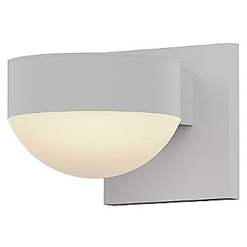 Shown in Frosted Polycarbonate Dome, Textured White finish