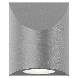 Shear LED Indoor/Outdoor Wall Sconce (Gray/Large) - OPEN BOX