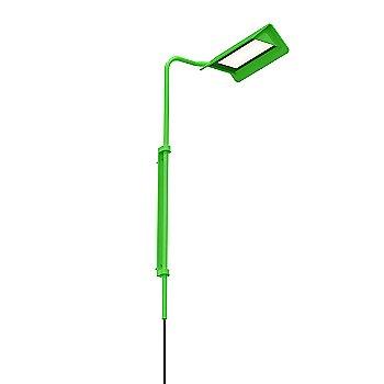 Satin Green Aluminum / Right