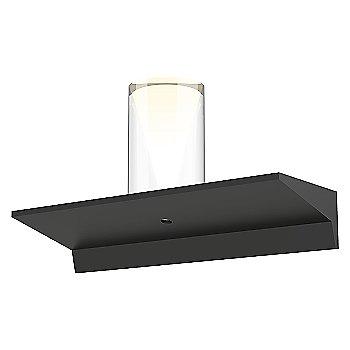 Large Laser Etched Crystal, Satin Black finish / 1 Foot