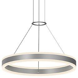 Double Corona LED Pendant Light