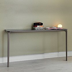 Slim Wall-Fixed Console Table, 55-Inch