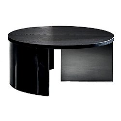 Regolo Round Coffee Table - Wooden Table Top
