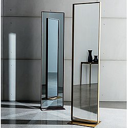 Visual Mirror - Free Standing Burnished