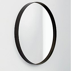 Visual Mirror - Round Mocha