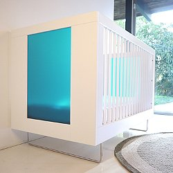 Alto Crib With Translucent Color Panels