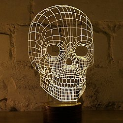 Skull LED Table Lamp