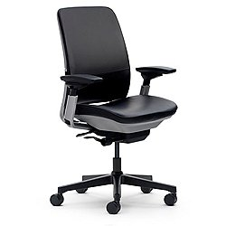 Amia Leather Office Chair