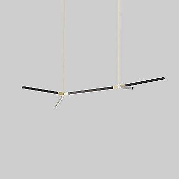 Polished Brass finish / Maple