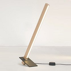 2 Foot Torch Table Lamp