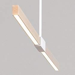 6 Foot LED Linear Suspension Light