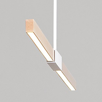 4 Foot LED Linear Pendant