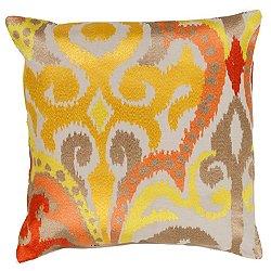 Radiant Swirl Pillow
