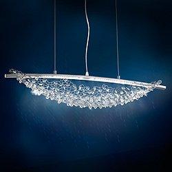 Amaca LED Linear Suspension Light
