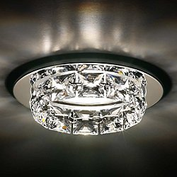 Ringlet 1-Light Crystal Recessed Trim