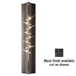 Stitch Wall Sconce (Black) - OPEN BOX RETURN