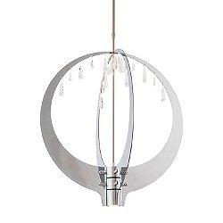 Rain Orb LED Crystal Pendant Light
