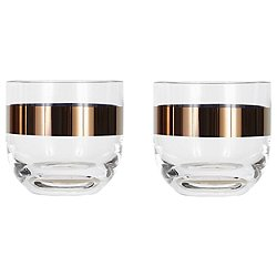 Tank Whiskey Glasses, Set of 2