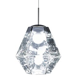 Cut Tall Pendant Light