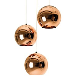 Copper 25 3 Light Multipoint Pendant (3 Light) - OPEN BOX RETURN