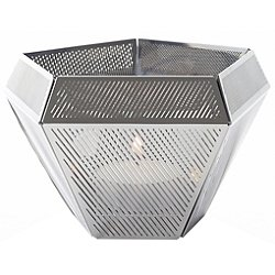 Cell Tea Light Holder (Stainless Steel) - OPEN BOX RETURN