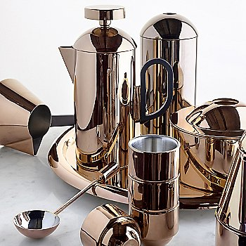 Pictured with the Tom Dixon Brew Collection
