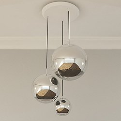 Mirror Ball Multipoint Pendant - OPEN BOX RETURN