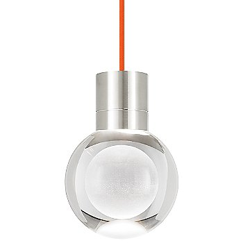 Orange cord color / Satin Nickel finish