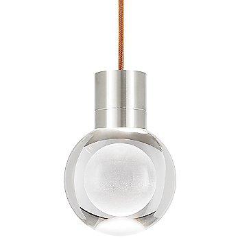 Copper cord color / Satin Nickel finish