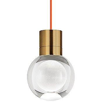 Orange cord color / Aged Brass finish