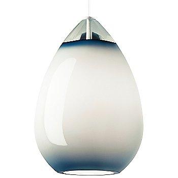 Steel Blue shade / White finish