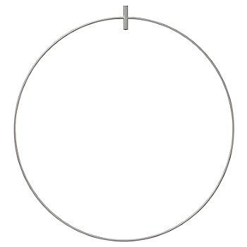 Satin Nickel finish / 23 inch