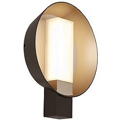 Refuge Round LED Outdoor Wall Sconce