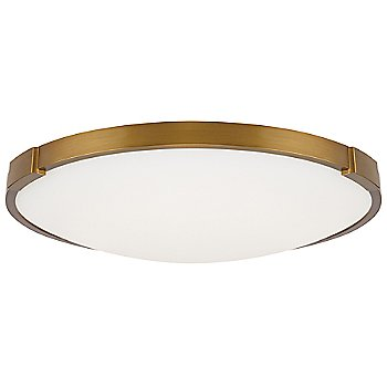 Shown in Aged Brass finish, 13 inch