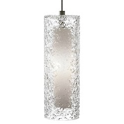 Mini-Rock Candy Cylinder Pendant Light