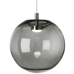 Palona Pendant Light (Smoke/Satin Nickel) - OPEN BOX RETURN