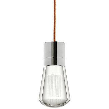Shown in Satin Nickel finish, Copper cord