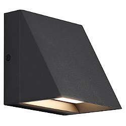Pitch LED Outdoor Single Wall Light